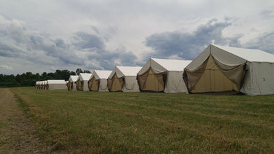 Glamping at Country Fest and Rock Fest